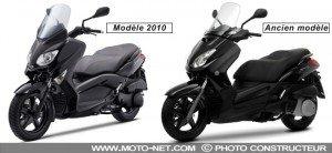 XMAX 250 : nouveau modèle, ancien modèle dans TECHNIQUE xmax-2010-250-noir-300x138